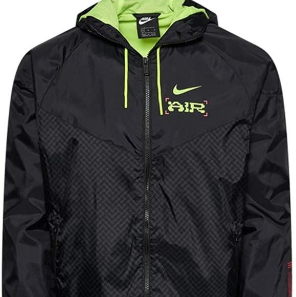 Nike Catch Air Mens Windbreaker Full-Zip Jacket CW